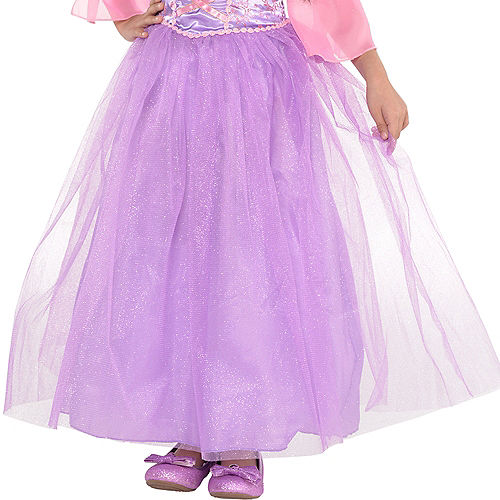 Girls Rapunzel Costume - Tangled Image #3