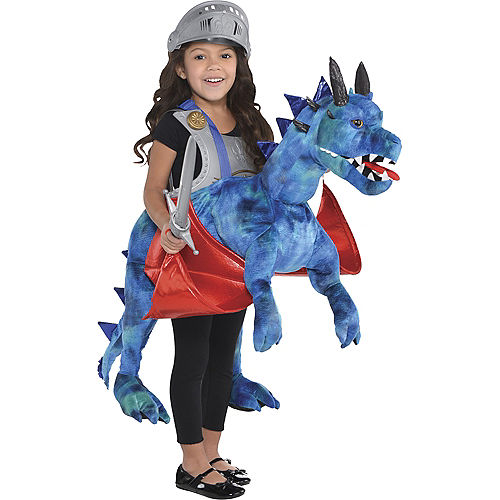 Child Dragon Ride-On Costume Image #1