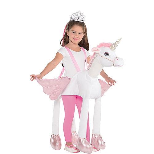 Child Unicorn Ride-On Costume Image #1