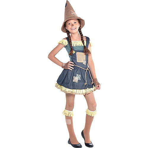 Girls Scarecrow Costume - The Wizard of Oz Image #1