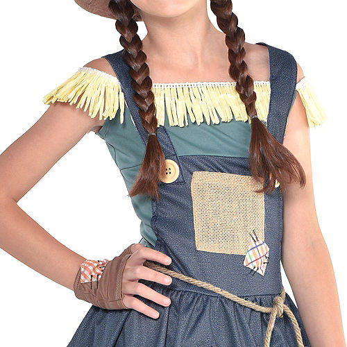 Girls Scarecrow Costume - The Wizard of Oz Image #3