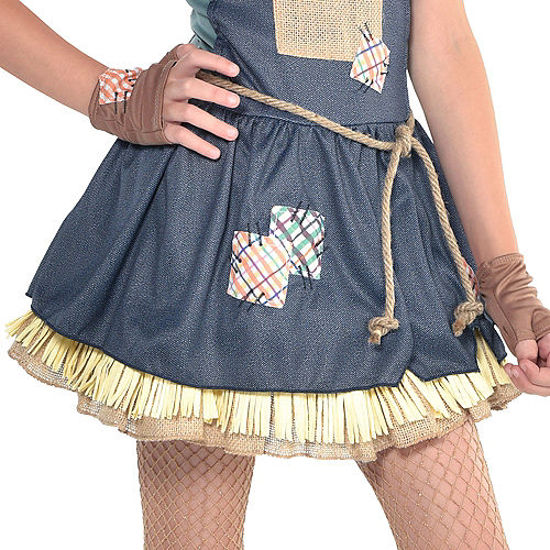 Girls Scarecrow Costume - The Wizard of Oz Image #4