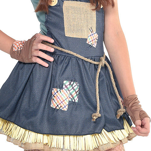 Girls Scarecrow Costume - The Wizard of Oz Image #5