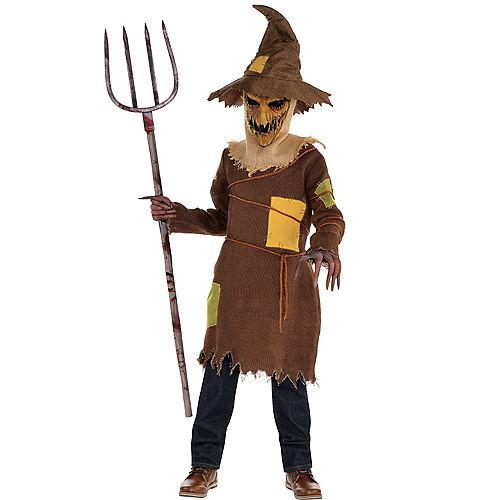 Boys Scary Scarecrow Costume Image #1
