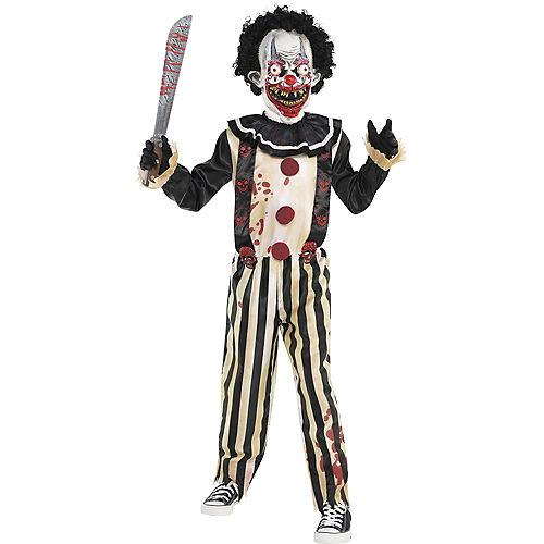 Boys Slasher Clown Costume Image #1