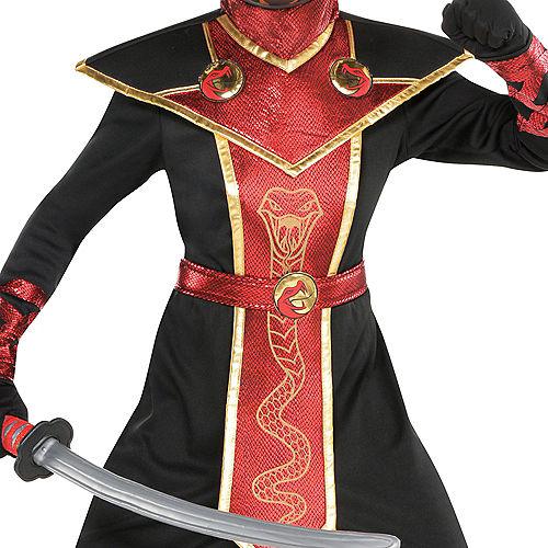 Boys Snake Venom Ninja Costume Image #3