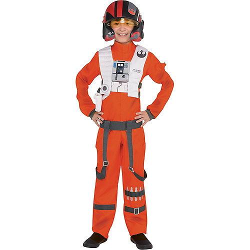 Boys Poe Dameron Costume - Star Wars 7 The Force Awakens Image #1