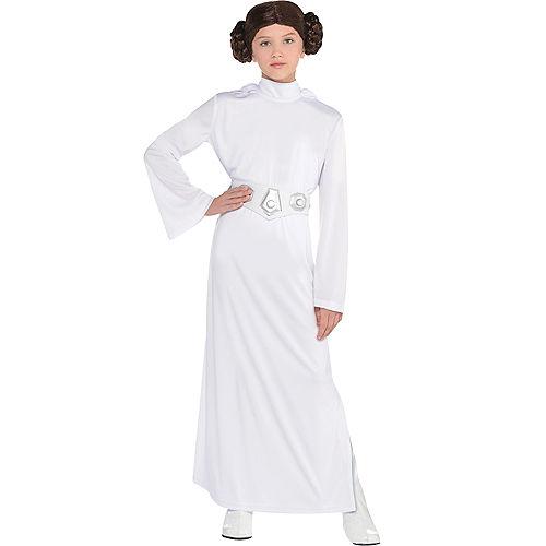 Girls Princess Leia Costume - Star Wars Image #1