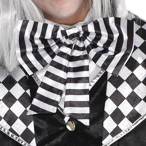Adult Black & White Mad Hatter Costume Image #3