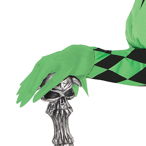 Boys Green Wicked Jester Costume Image #3
