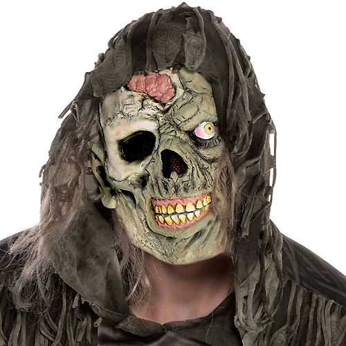 Adult Creepy Zombie Costume Plus Size Image #2
