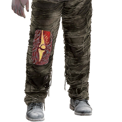 Adult Creepy Zombie Costume Plus Size Image #4