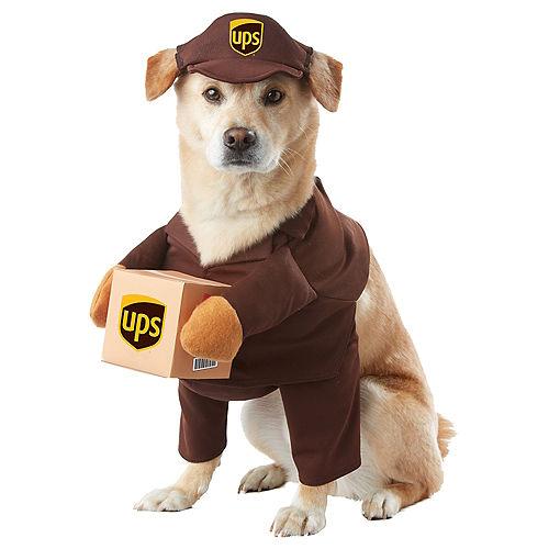 UPS Driver Dog Costume Image #1