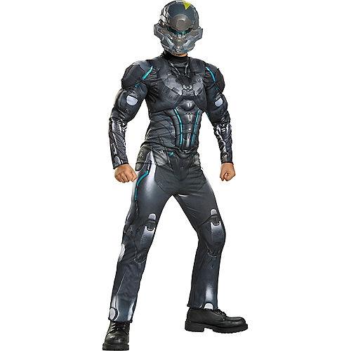 Boys Halo Spartan Locke Muscle Costume - Halo Image #1
