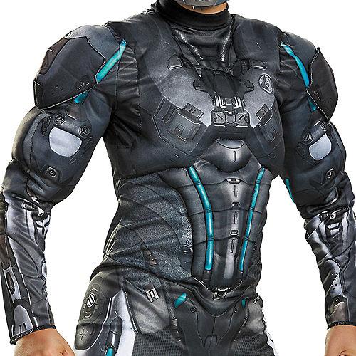 Boys Halo Spartan Locke Muscle Costume - Halo Image #3