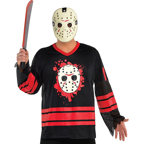 Adult Jason Voorhees Accessory Kit - Friday the 13th Image #1