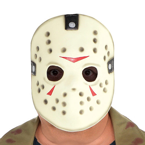 Adult Jason Voorhees Costume Plus Size - Friday the 13th Image #2