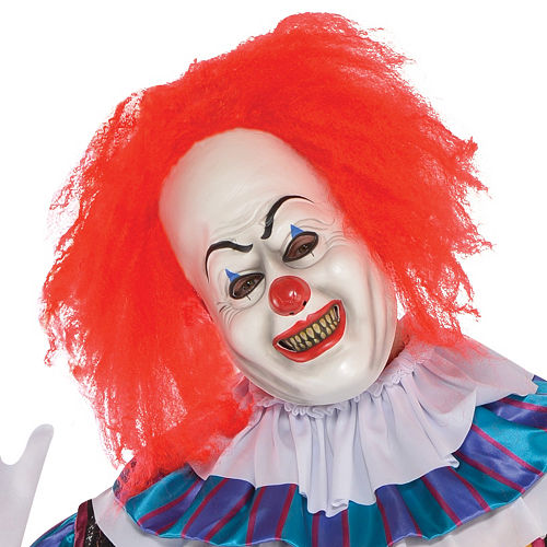 Adult Pennywise Costume Plus Size - It Image #2