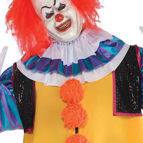 Adult Pennywise Costume Plus Size - It Image #3