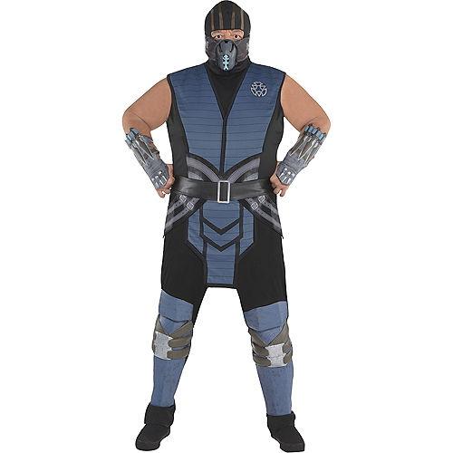 Adult Sub-Zero Costume Plus Size - Mortal Kombat Image #1