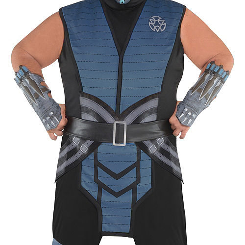 Adult Sub-Zero Costume Plus Size - Mortal Kombat Image #2