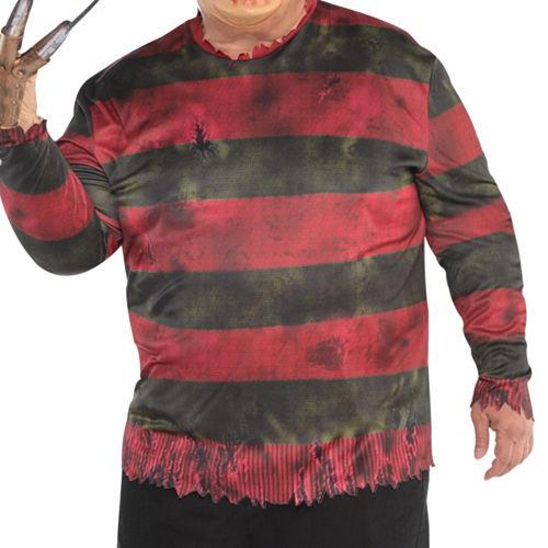 Adult Freddy Krueger Costume Plus Size - A Nightmare on Elm Street Image #2