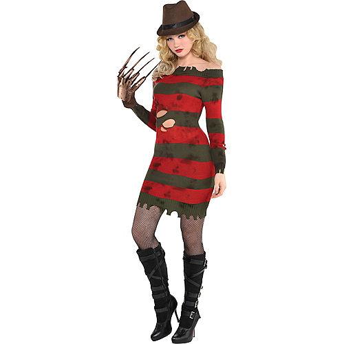 Adult Miss Krueger Costume - A Nightmare on Elm Street Image #1