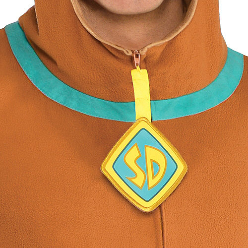 Adult Zipster Scooby-Doo One Piece Costume Image #3