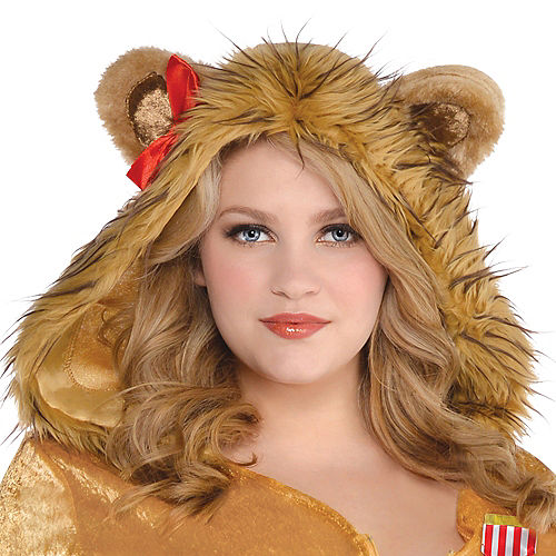 Adult Cowardly Lion Costume Plus Size - The Wizard of Oz Image #2