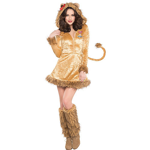 Adult Cowardly Lion Costume - The Wizard of Oz Image #1