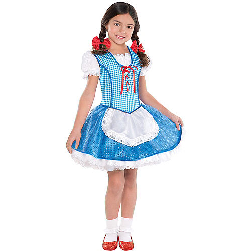 Girls Dorothy Costume - The Wizard of Oz Image #1