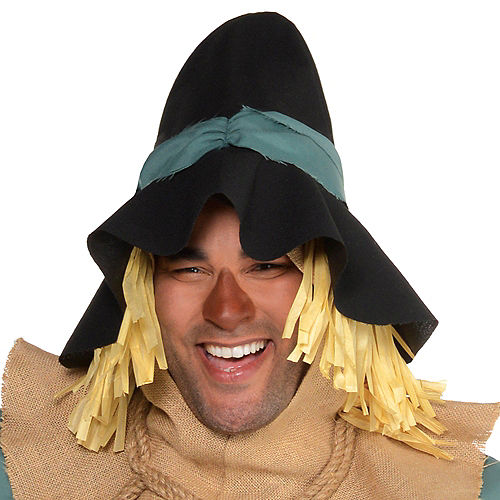 Adult Scarecrow Costume Plus Size - Wizard of Oz Image #2