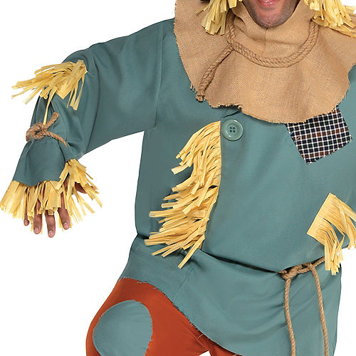 Adult Scarecrow Costume Plus Size - Wizard of Oz Image #3