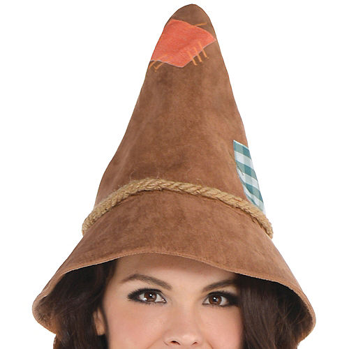 Adult Scarecrow Costume Plus Size - The Wizard of Oz Image #2