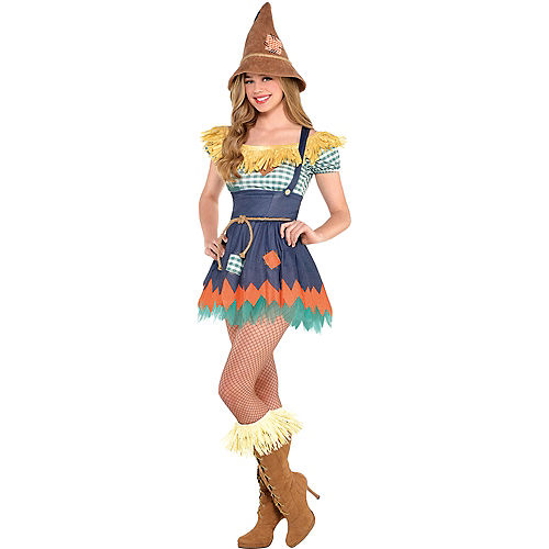 Adult Scarecrow Costume - The Wizard of Oz Image #1