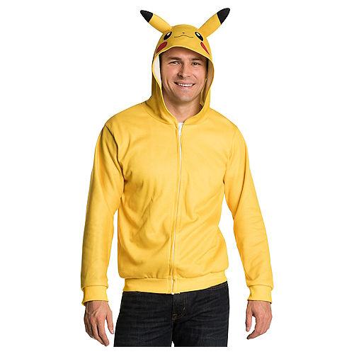 Pikachu Zip-Up Hoodie - Pokemon Image #1