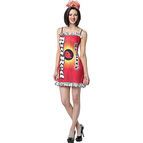 Adult Wrigley's Big Red Gum Costume Image #1