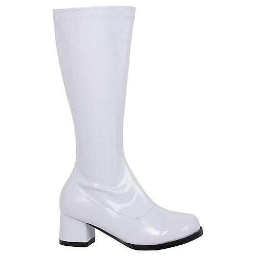 Child White Dora Go-Go Boots Image #1