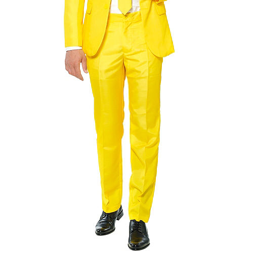 Adult Yellow Suit Image #4