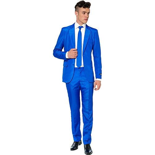 Adult Blue Suit Image #1