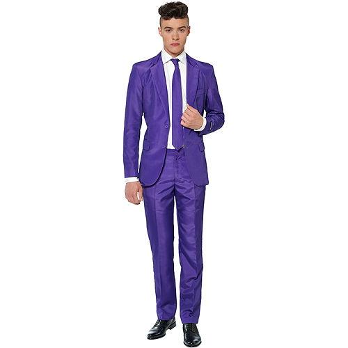 Adult Purple Suit Image #1