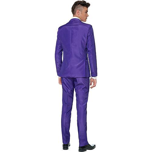 Adult Purple Suit Image #2