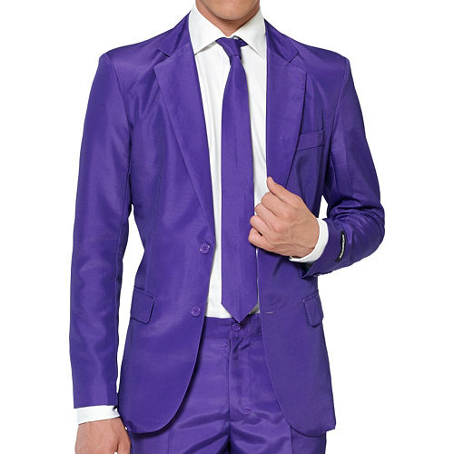 Adult Purple Suit Image #3
