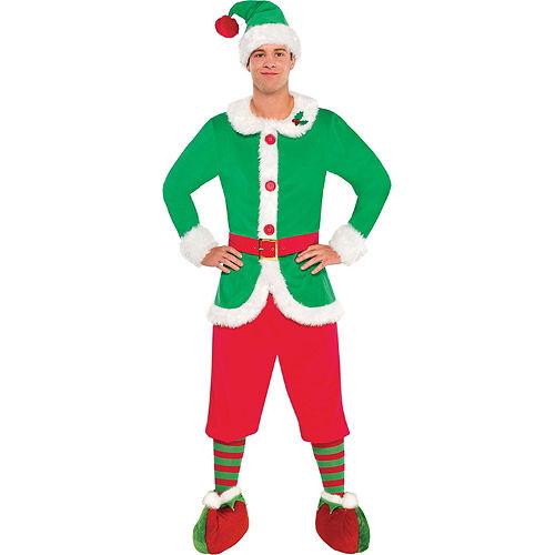 Adult North Pole Elf Costume Image #3