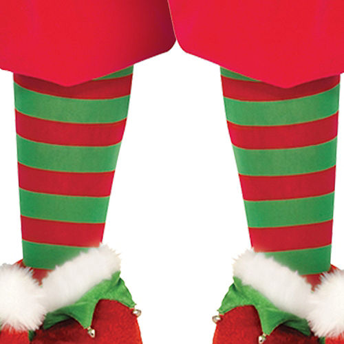 Adult North Pole Elf Costume Image #4