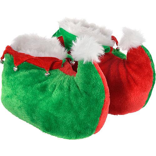 Adult North Pole Elf Costume Image #5