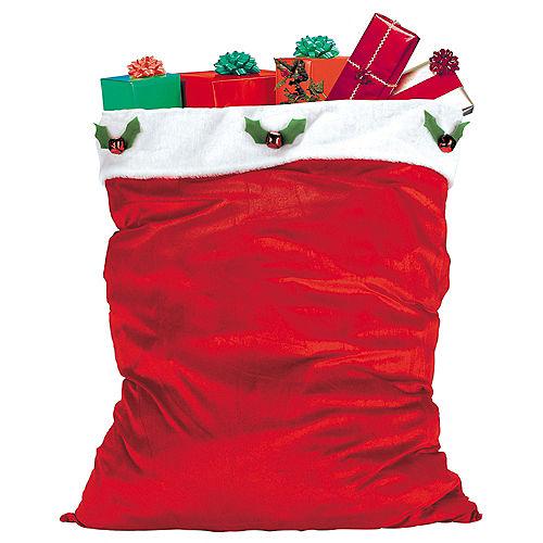 Adult Ultra Velvet Santa Suit Costume Image #3