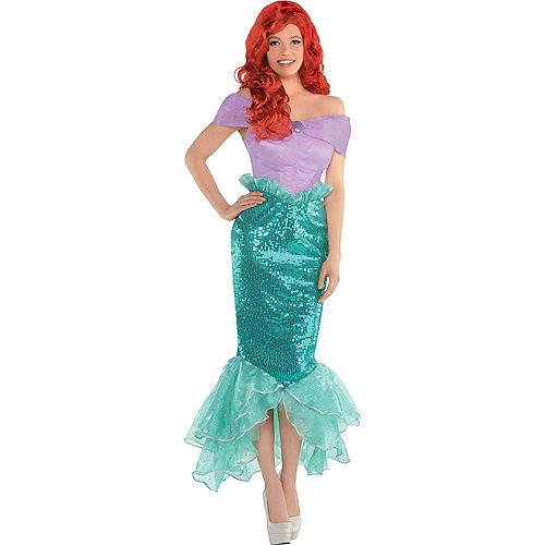 Adult Ariel Costume - The Little Mermaid Image #1