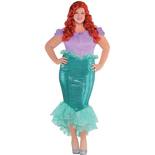 Adult Ariel Costume Plus Size - The Little Mermaid Image #1