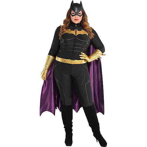 Adult Batgirl Plus Size Deluxe Costume - Batman Image #1